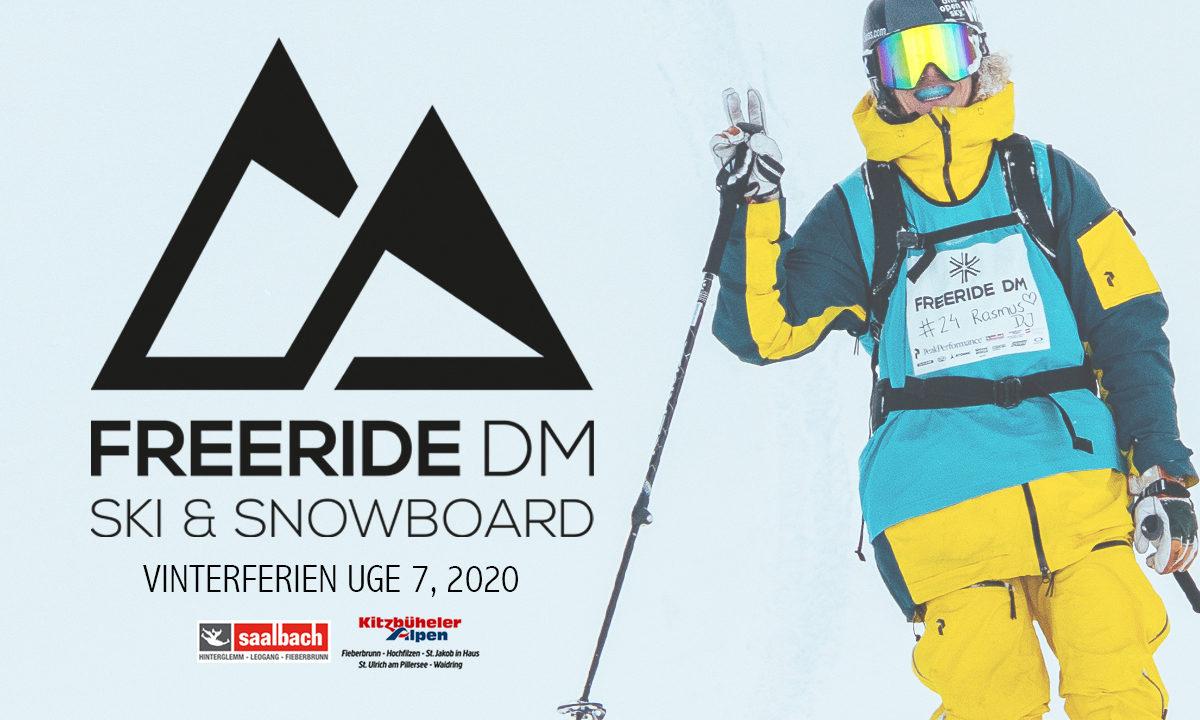 Tilmeldingen til Freeride DM 2020 (SKI & SNB) er åben
